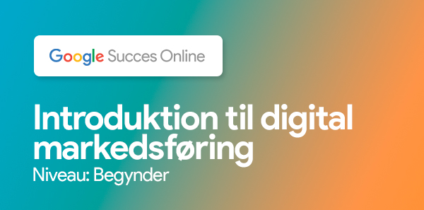 Introduktion til digital markedsføring