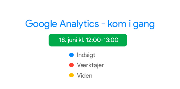 Google Analytics - kom i gang