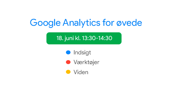Analytics for øvede