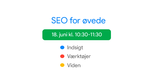 SEO for øvede