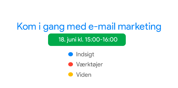 E-mail marketing kom i gang