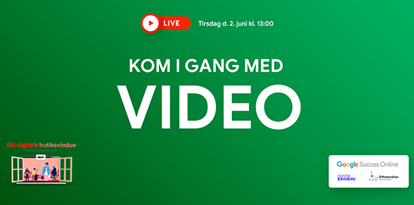 Kom i gang med video